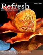 Refresh October 2018 Cover